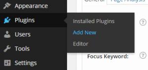 """""""Add New"""" location underneath Plugins"""